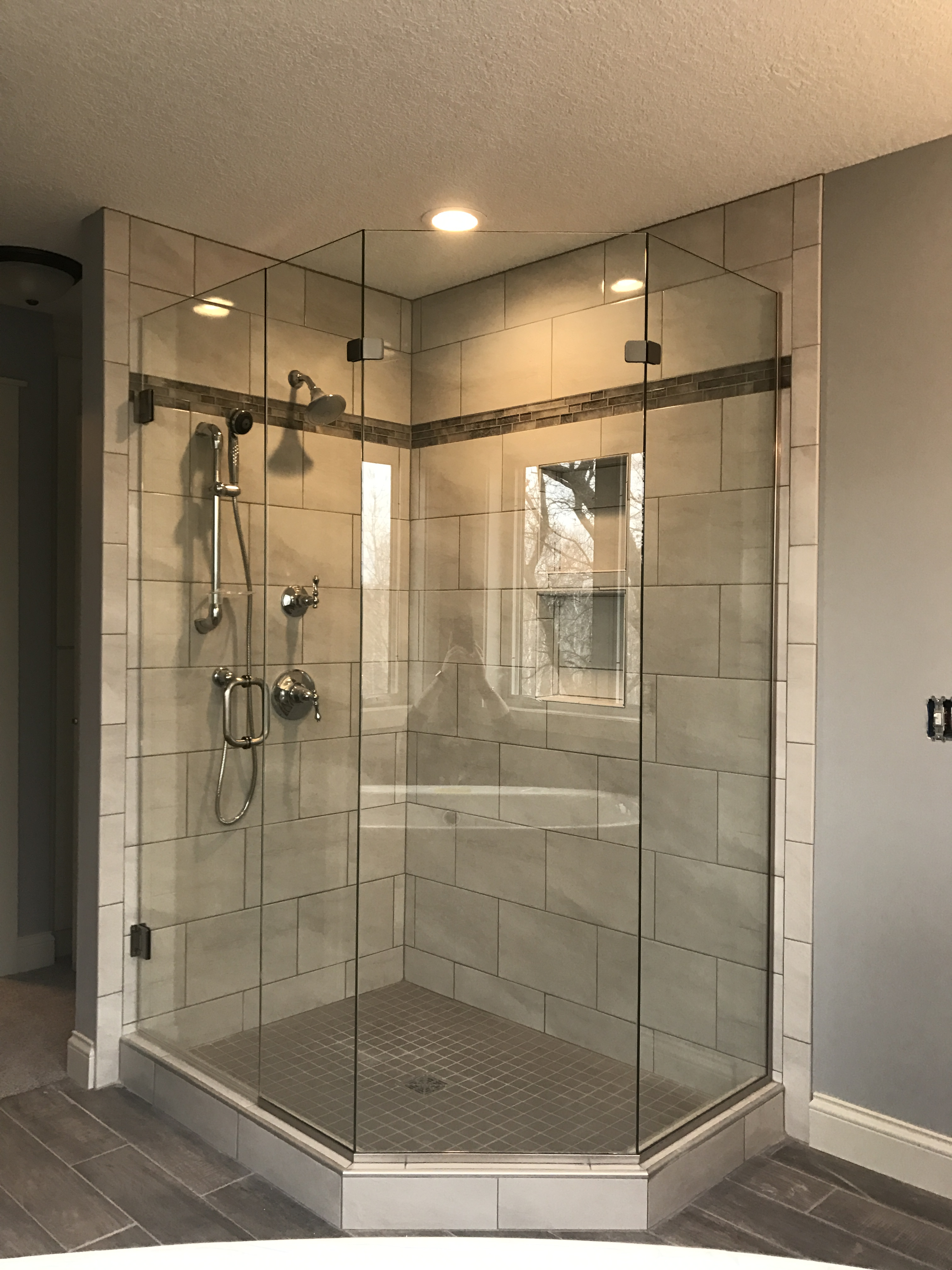 Custom Glass Services Residential Commercial Rogers Mn